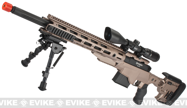 Remington MSR-338 High Power Airsoft Sniper Rifle by ARES ...
